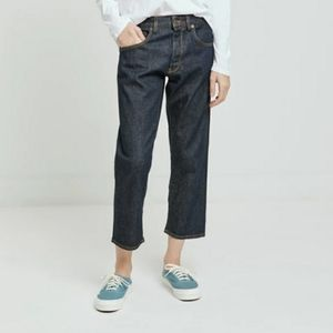 6397 The News Shorty Selvedge Rinse Denim Jean 27